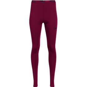Bergans Akeleie Leggings Dames, beet red/raspberry
